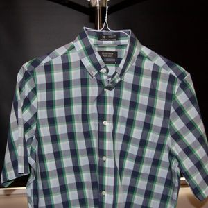 Nordstrom Short-Sleeve Button-Down (Wrinkle-free)